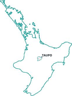 Hawkes Crane Hire - North Island Map