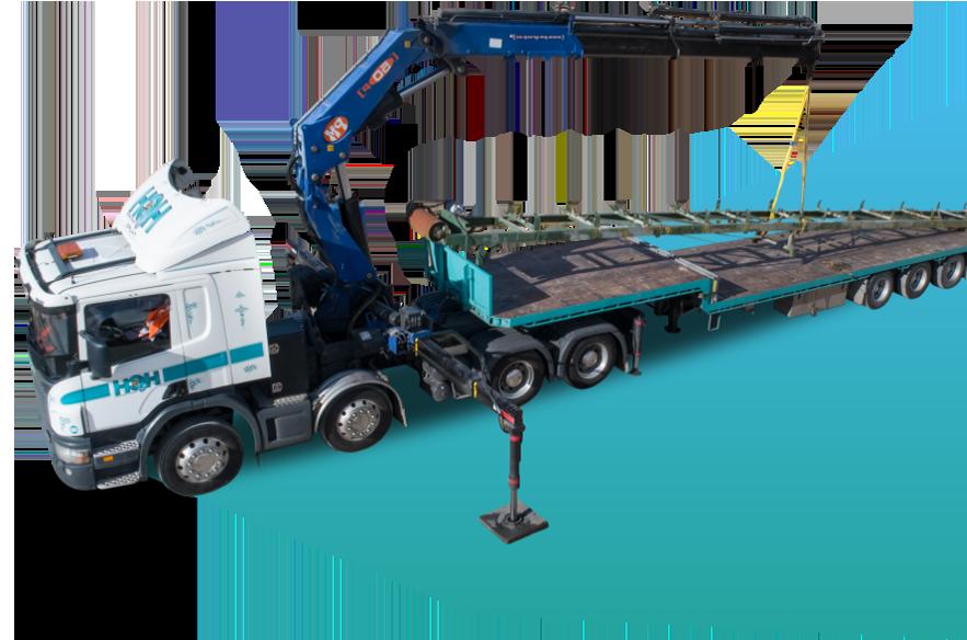 Hawkes Crane Hire - Truck